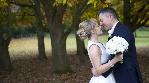 rowton hall wedding autumn